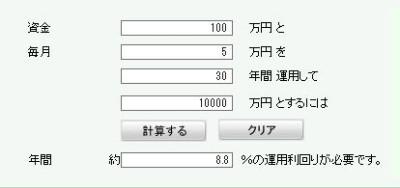 金融電卓2
