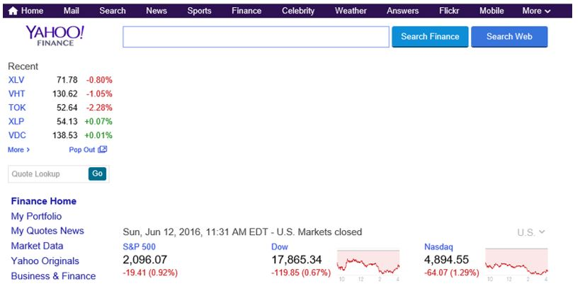 yahoo finance1