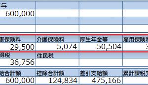 【経理部あるある】4,5,6月の給料が多くなって社会保険料がとんでもない額に・・