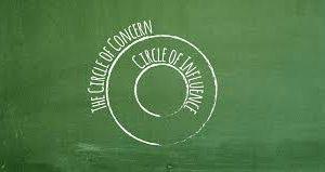 関心の輪を広げつつも影響の輪の中を大切にする
